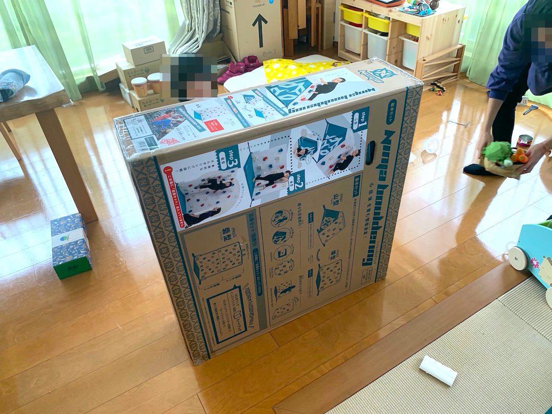 ニンジャボルダリング箱。